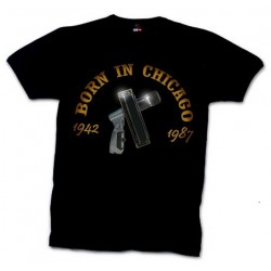 """Born in Chicago"" t-shirt"
