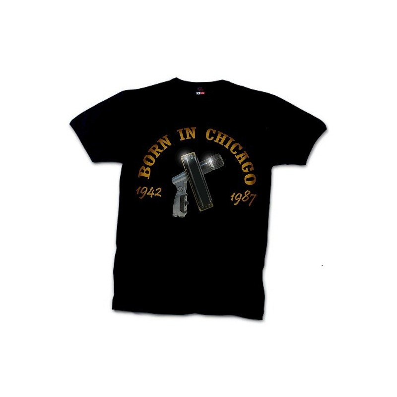 """""""Born in Chicago"""" t-shirt"""