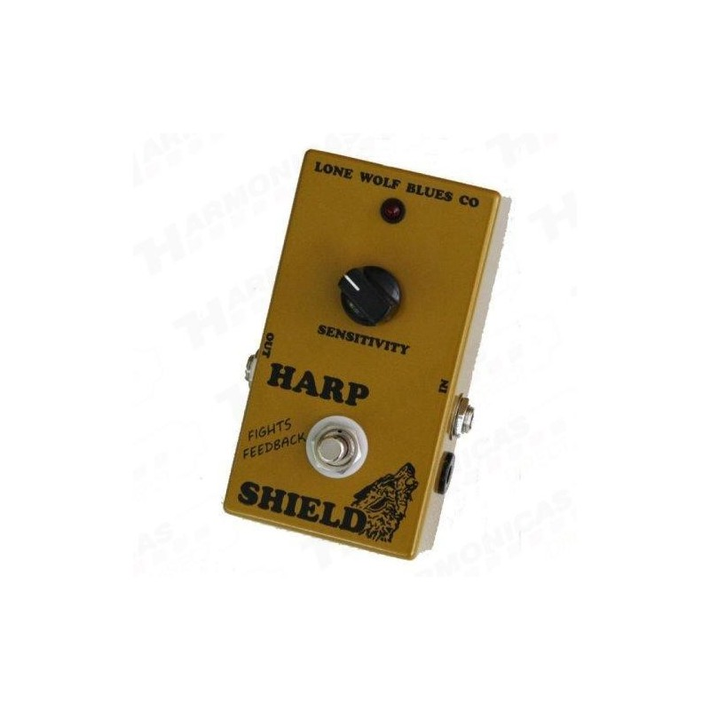 Lone Wolf Harp Octave Pedal