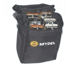 Beltbag for 6 Blues harmonicas