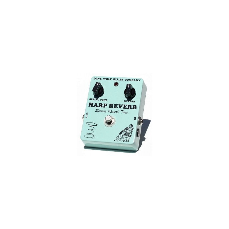 Lone Wolf Harp Reverb Pedal