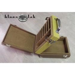 Bluexlab Double Harmonica Case