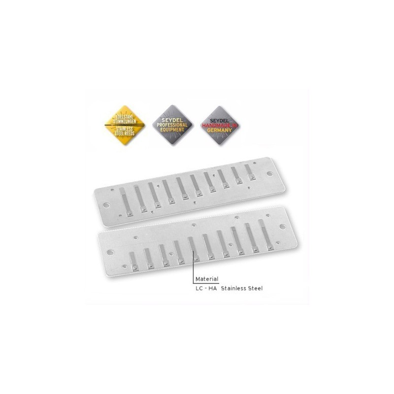 Reed Plate set per Seydel Session Steel e Session Standard