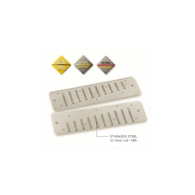 Reed Plate Set for Seydel Solist Pro 12
