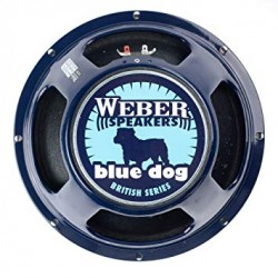 Weber AlNiCo Blue Dog 12""