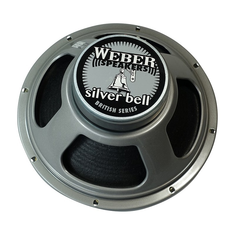 "Weber Ceramic Silver Bell 12"""