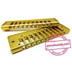 Comb for Seydel Session in aluminium - Gold