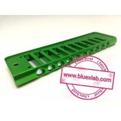 Comb for Seydel Session in aluminium - Green