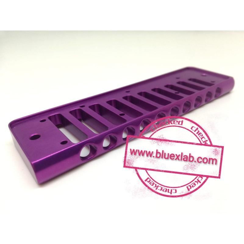 Comb for Seydel Session in aluminium - Purple