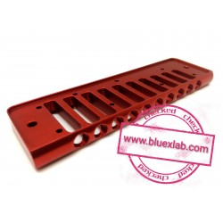 Comb for Seydel Session in aluminium - Red