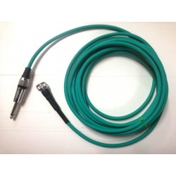 Green Vintage Cable for Astatic JT-30 Microphone and Harp Mics